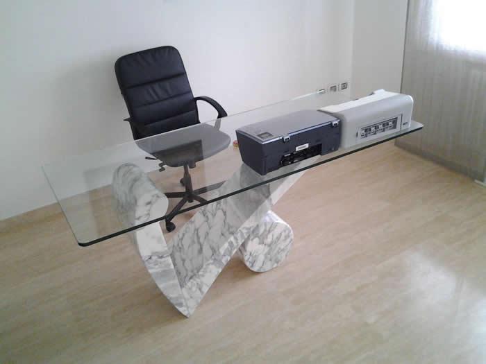 Tavolo Da Ufficio Moderno Aikido : Zaupa marmi galliera veneta padova